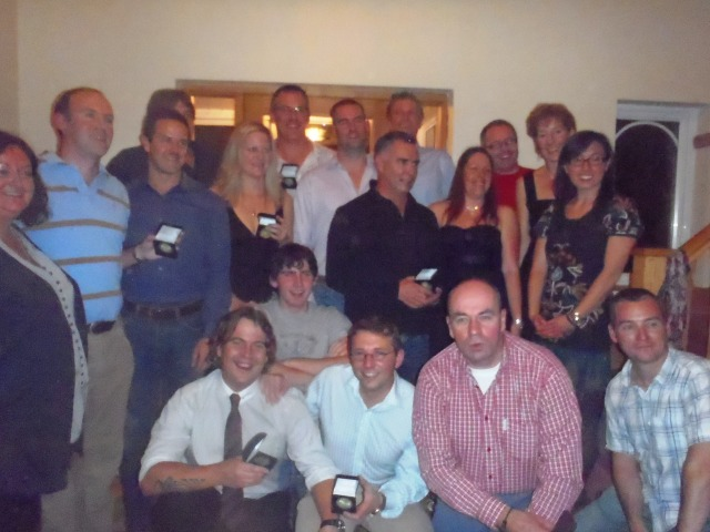 English Channel Soloists at Channel Swim Dinner, November 2010