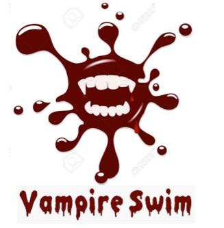 Vampire swim logo
